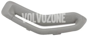 Krytka vodítka bezpečnostného pásu P2 (2006-) S60/V70 II/XC70 II strana vodiča, farba sivá