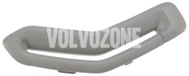 Krytka vodítka bezpečnostného pásu P2 (2006-) S60/V70 II/XC70 II strana spolujazdca, farba sivá