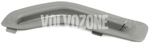 Krytka vodítka bezpečnostného pásu P2 (-2005) S60/S80/V70 II/XC70 II/XC90 strana vodiča, farba sivá