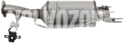 DPF filter 2.4D/D5 P1 (-2010) C70 II/S40 II/V50 nový typ