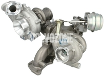 Nízkotlaké turbo 5 valec biturbo 2.4 D/D4/D5 (2009-) P3