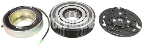 Elektromagnetická spojka kompresora klimatizácie P2 S60/S80/V70 II/XC70 II, XC90 okrem 6 valca