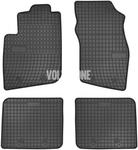 Gumové rohože S40/V40 - čierno-sivé
