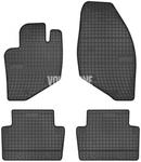 Gumové rohože P2 S60/S80/V70 II/XC70 II - čierno-sivé