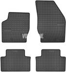 Gumové rohože P2 XC90 - čierno-sivé