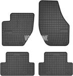 Gumové rohože P1 V40 II(XC) - čierno-sivé