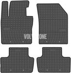 Gumové rohože SPA XC60 II - čierno-sivé