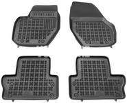 Gumové rohože s vysokým okrajom P3 S60 II(XC)/V60(XC)/XC60 - čierno-sivé
