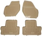 Gumové rohože s vysokým okrajom P3 S60 II(XC)/V60(XC)/XC60 - béžové
