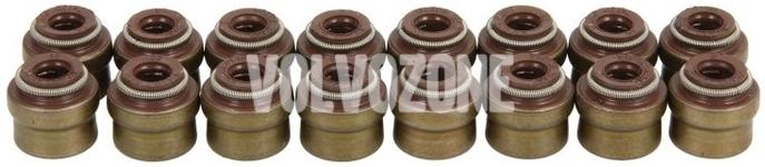 Guferá ventilov (sada 16x) 4 valec (2014-) benzín/diesel P1 P3 SPA(CMA)