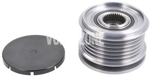 Voľnobežka alternátora 150A P1 (-2010) 1.6D/2.0D C30/C70 II/S40 II/V50