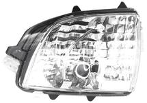 Smerovka spätného zrkadla ľavá P2 (2007-) XC70 II/XC90, P3 XC70 III